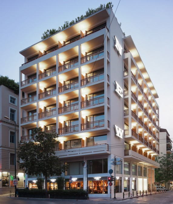new hotel athens greece design hotels