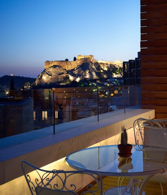 New Hotel Akropolis in Athens