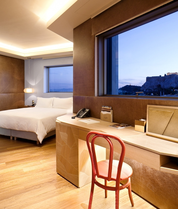 New Hotel Rooms and Suites in Athens