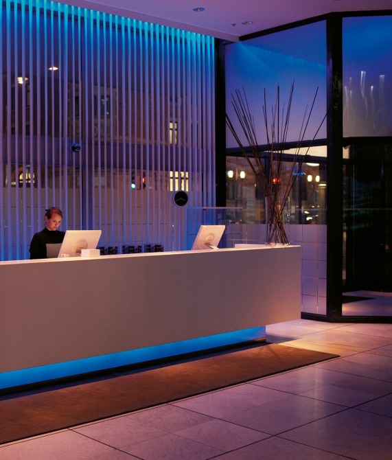 Nordic light hotel stockholm sweden design hotels for Design hotel reception