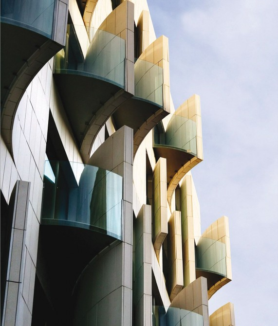 Hotel Omm Building in Barcelona