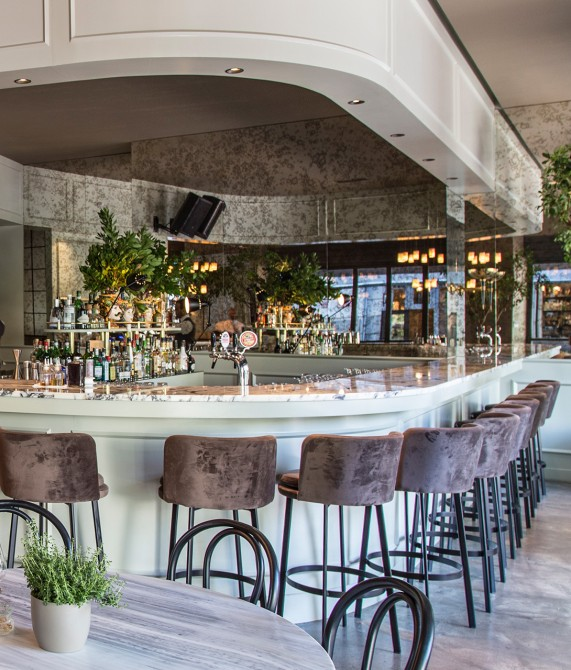Perianth Hotel Bar in Athens