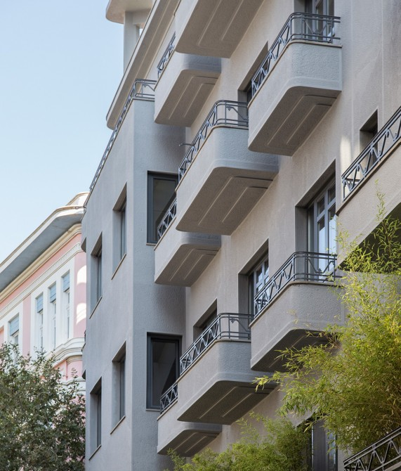 Perianth Hotel Exterior in Athens