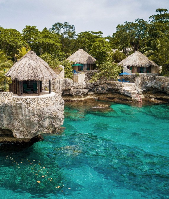Rockhouse Hotel Villas Water in Negril