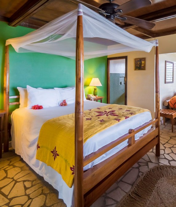 Rockhouse Hotel Guestroom on Jamaica