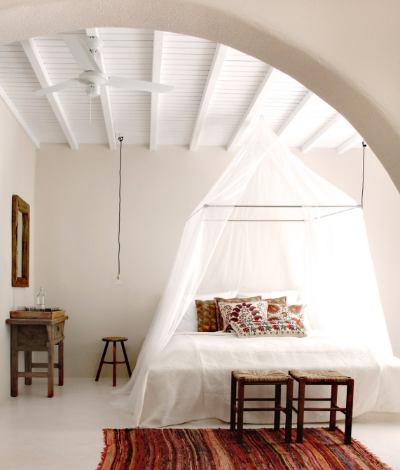 San Giorgio Mykonos Bedroom in Greece