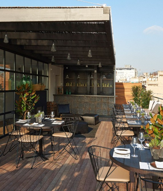 The Serras Terrace in Barcelona