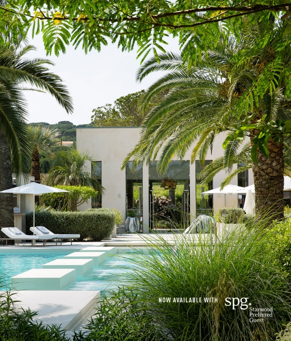 Hotel Sezz Saint-Tropez Pool in France