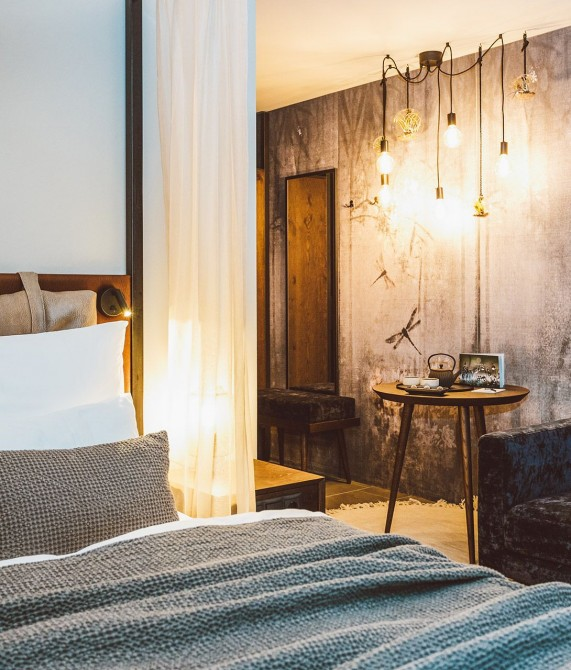 Silena The Soulful Hotel Design Details in Vals