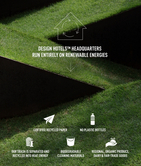Going Green - Design Hotels