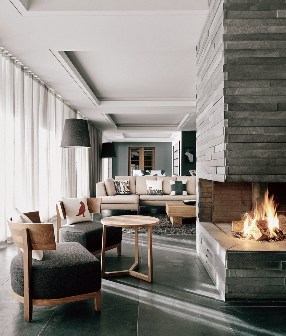 The Cambrian Lobby in Adelboden