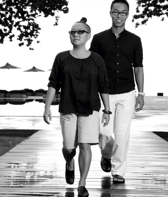 The Library Couple on Koh Samui