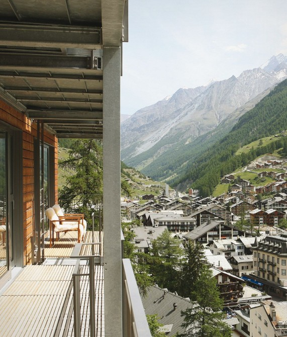 The Omnia Design Details in Zermatt