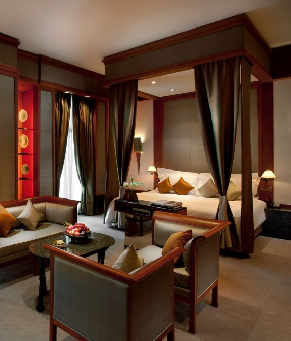 The Sukhothai Bangkok Bed in Thailand