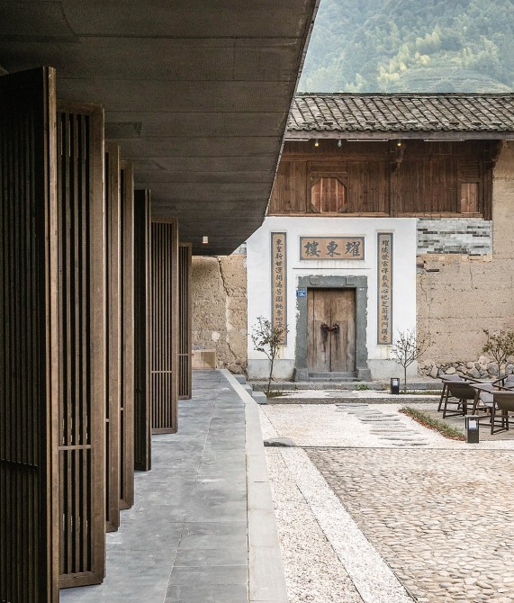 Tsingpu Tulou Retreat Courtyard in Zhangzhou