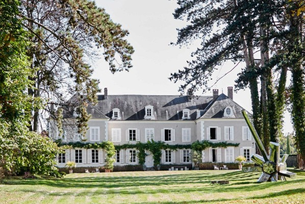 Chateau de la Resle House in Burgundy