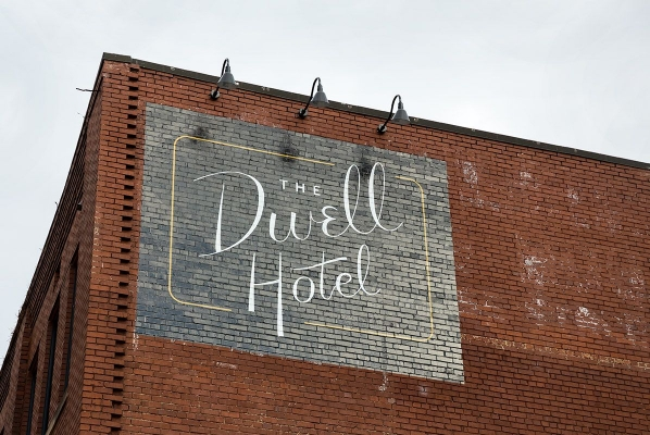 The Dwell Facade in Chattanooga