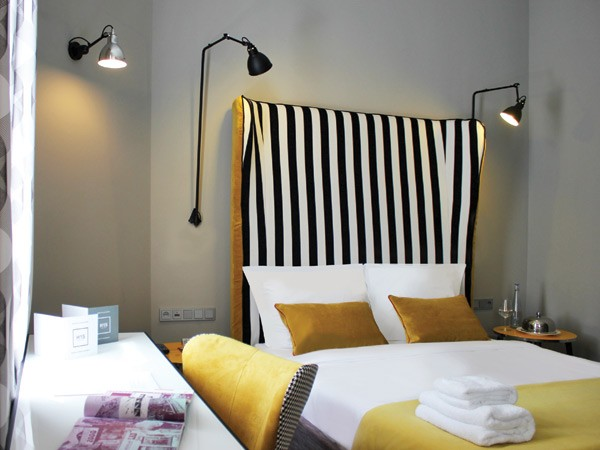 H15 boutique hotel warsaw poland design hotels for Boutique hotel rooms