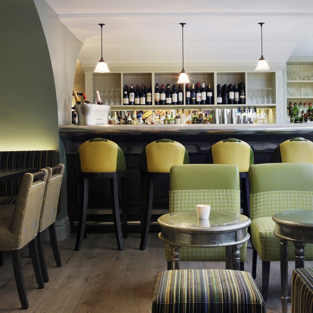 Dorset Square BAr Interior in London