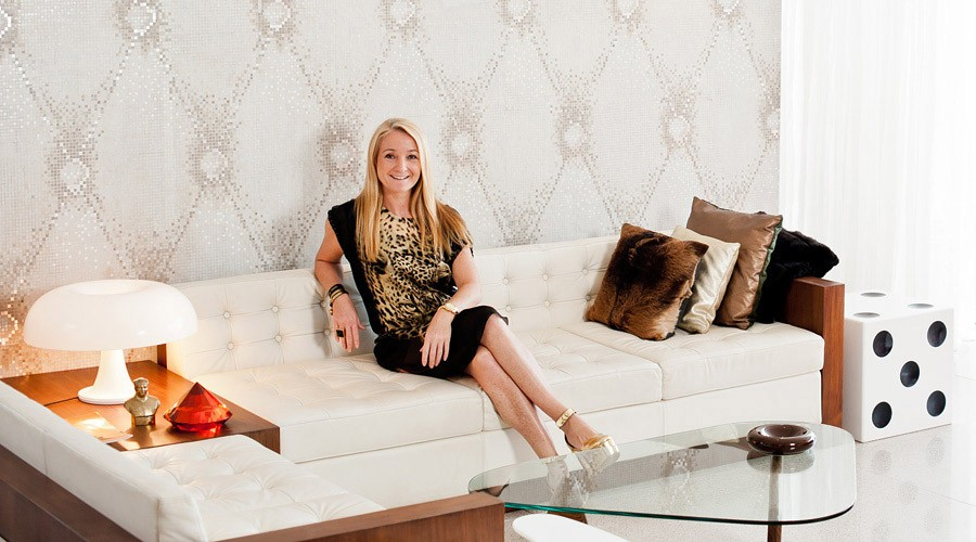 Luna2 group owner melanie hall sofa