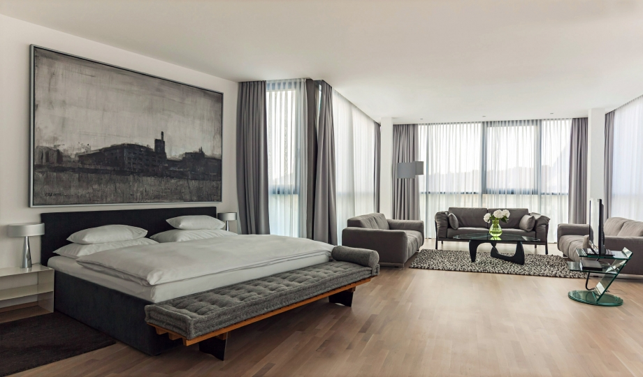 Share with its bold architecture and vast trove of for Designhotel graz