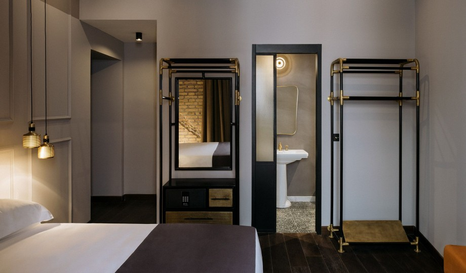 Chapter roma rome italy boutique design hotels for Roma interior design