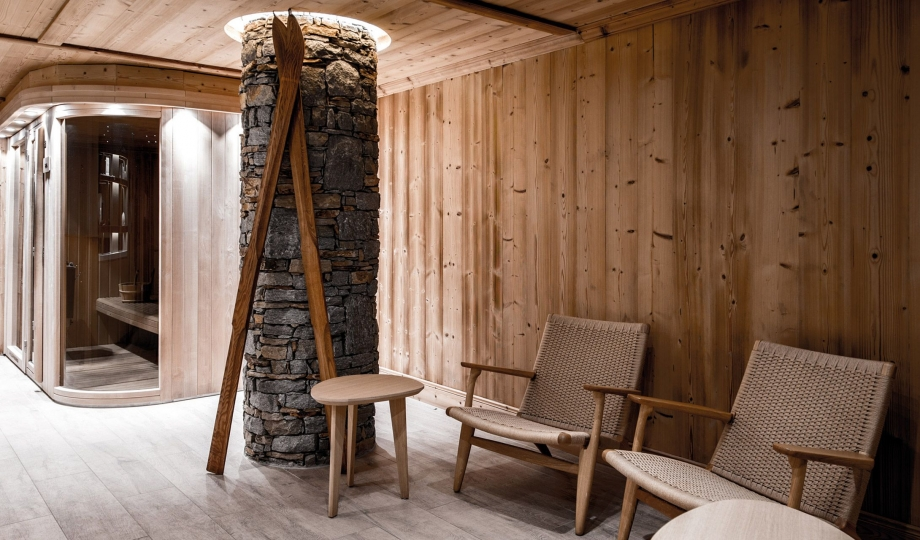H tel des 3 vall es courchevel france design hotels for Design hotels of france