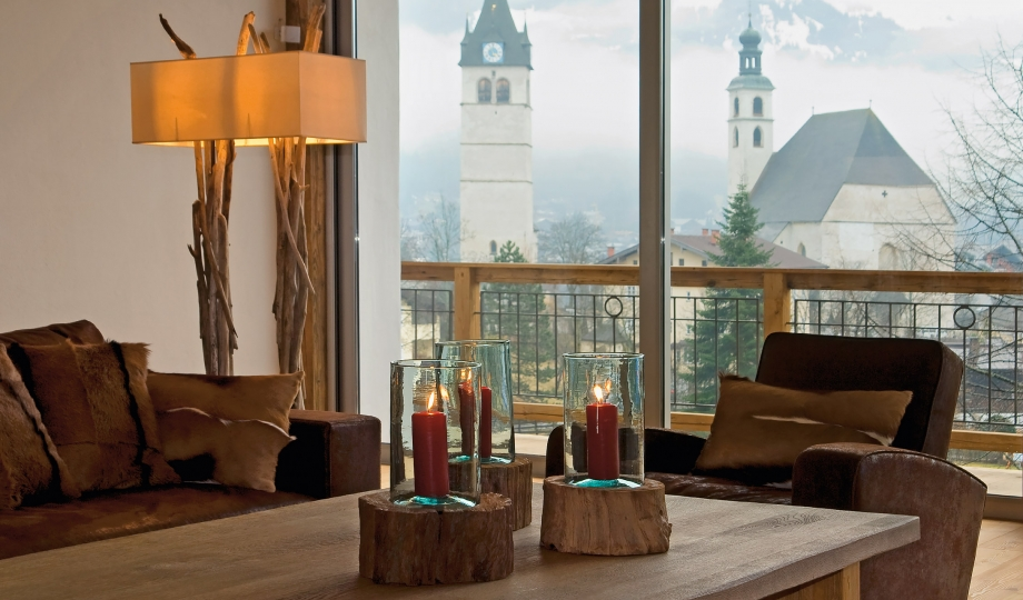 Hotel kitzhof mountain design resort kitzb hel austria - Living room definition architecture ...