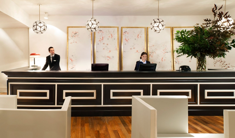 Hotel pulitzer buenos aires argentina design hotels for Hotel reception design