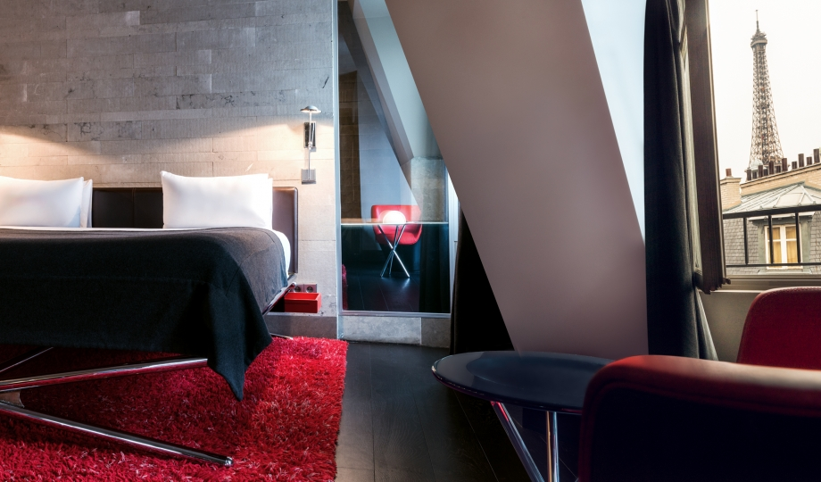 Hotel sezz paris france design hotels for Design hotels south of france