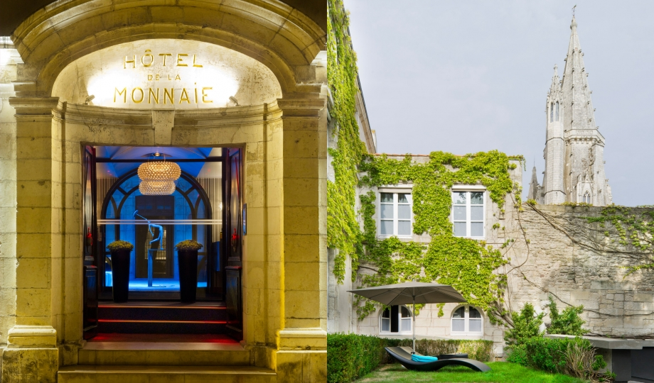 La monnaie art spa hotel la rochelle france design for Design hotels france