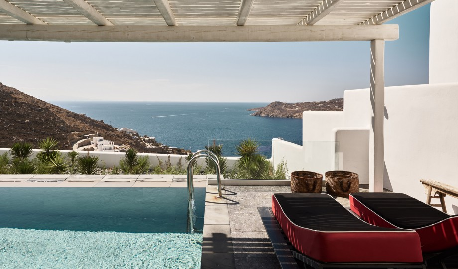 u2014Classic Cycladic architecture infused with a contemporary