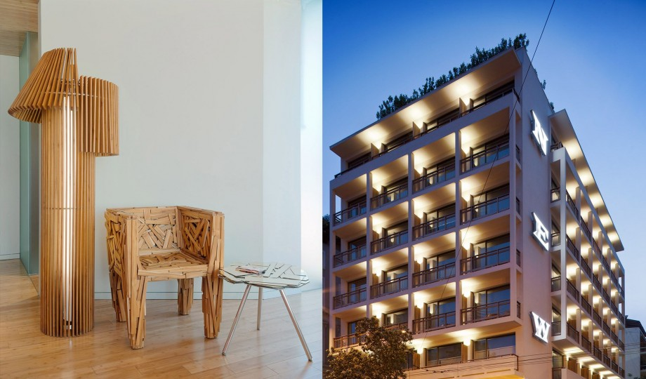 New hotel athens greece design hotels for Designhotel athen