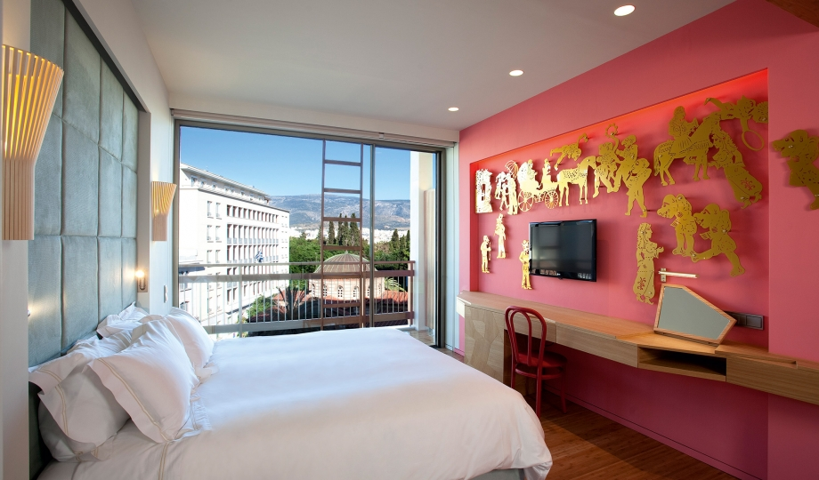 New hotel room interior m 07 r for Designhotel athen