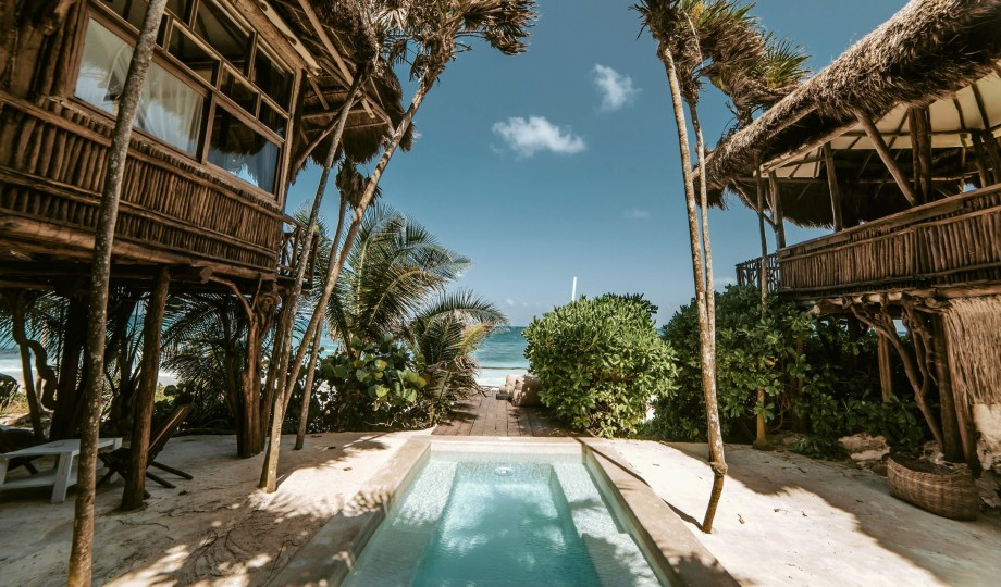 Coed By The Jungle On A Pristine Stretch Of Caribbean Coast Lies Communal Playground For Creative Community Papaya Playa Lets You Reconnect