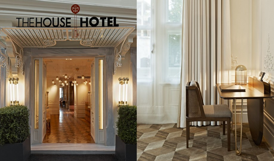 The house hotel bosphorus istanbul turkey design hotels for Hotel entrance decor