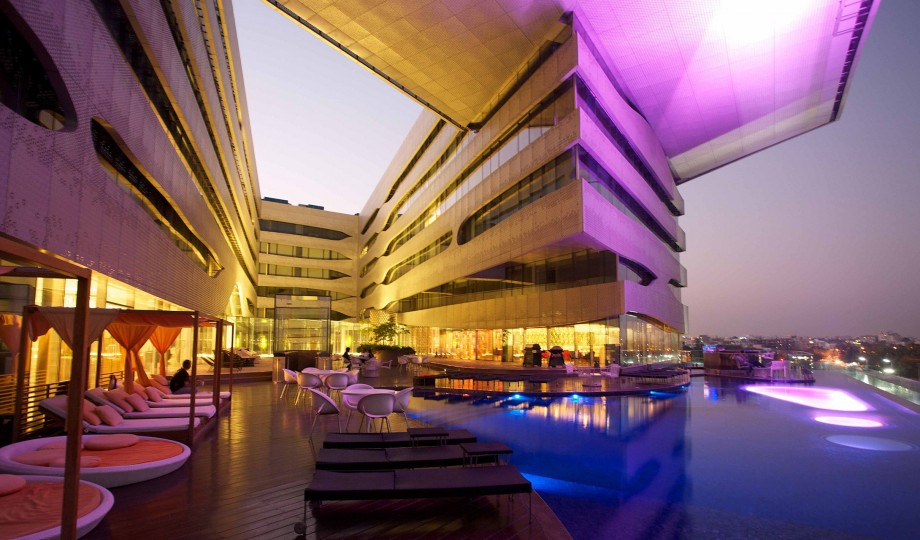 The park hyderabad india design hotels for Top design hotels india
