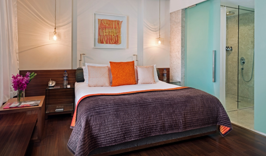 The park new delhi india design hotels for Bedroom designs delhi