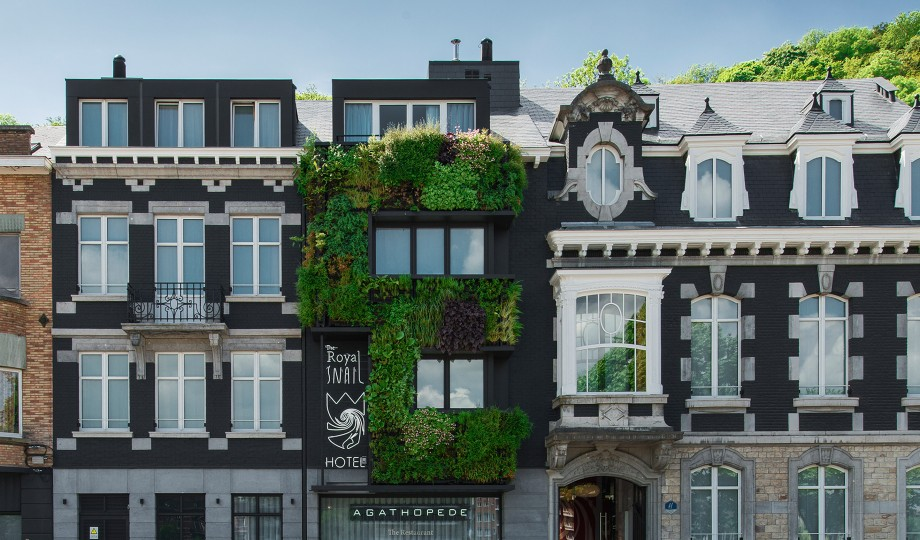 The royal snail namur belgium design hotels for Top design hotels belgium