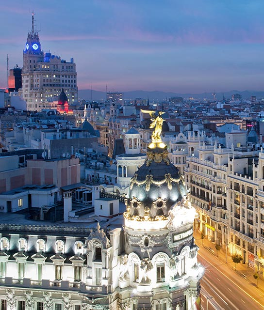 Madrid boutique luxury hotels design hotels for Design hotel madrid