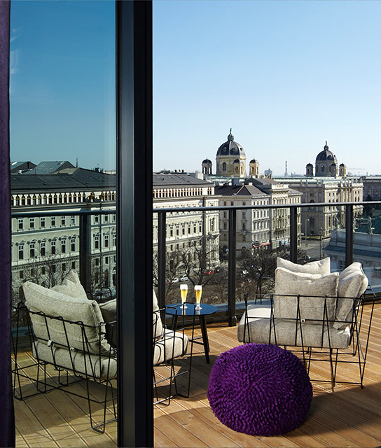 Vienna boutique luxury hotels design hotels for Design hotel oesterreich