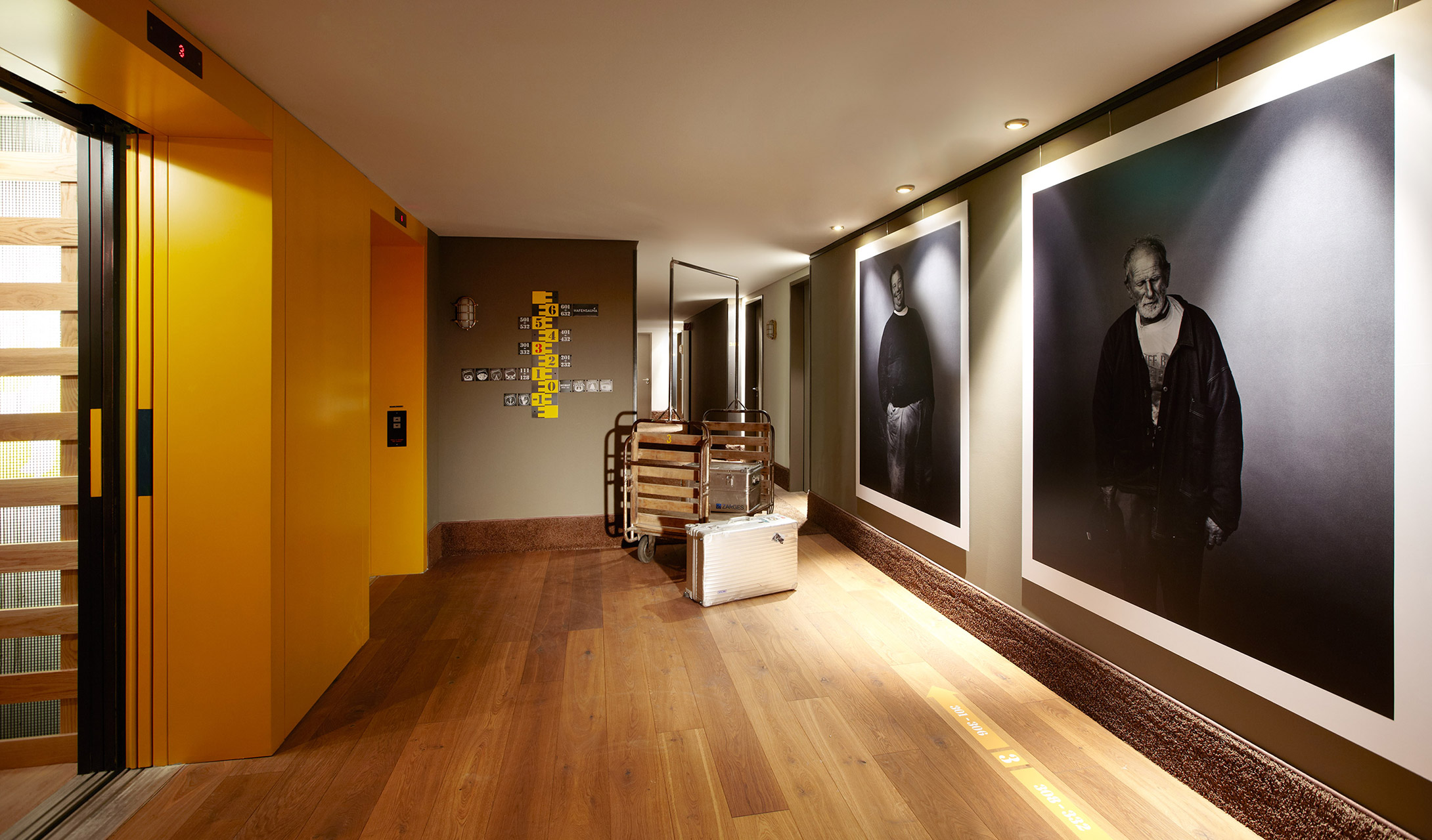 25hours hotel hafencity hamburg germany design hotels for Top design hotels deutschland