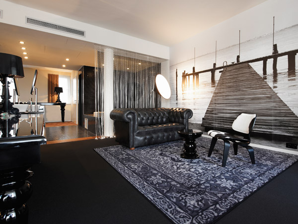 Rooms suites at hotel uberfluss in bremen germany for Design hotel uberfluss