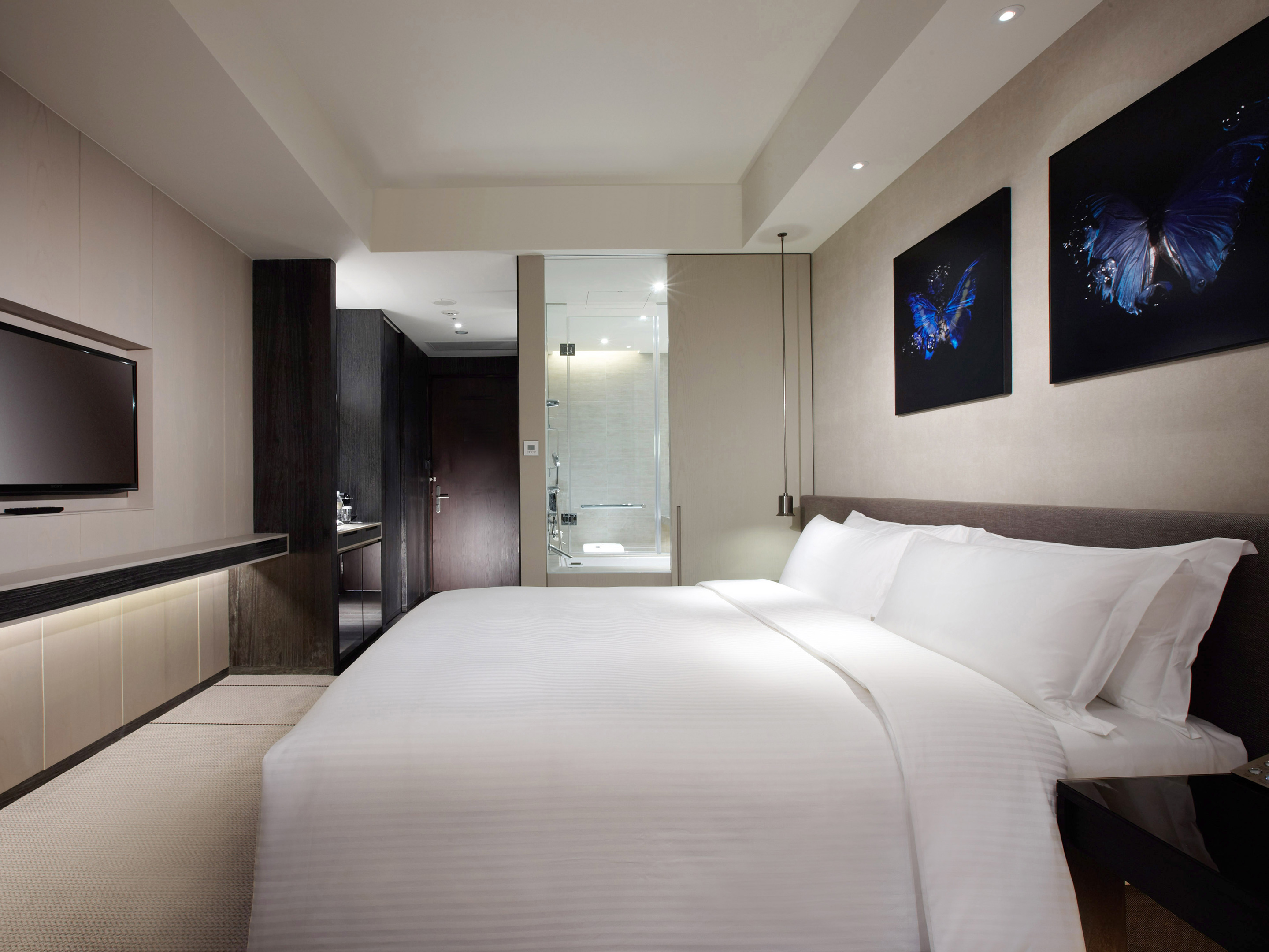Rooms suites at humble house taipei taiwan design hotels for Design hotel taipei