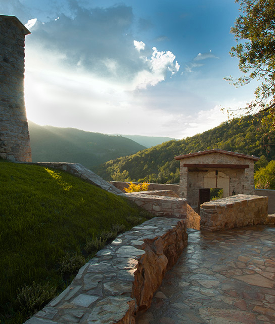 Parrano umbria boutique luxury hotels design hotels for Hotel design umbria