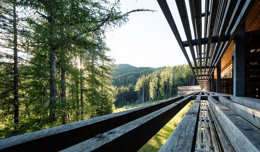 Vigilius Mountain Resort Forest in South Tyrol