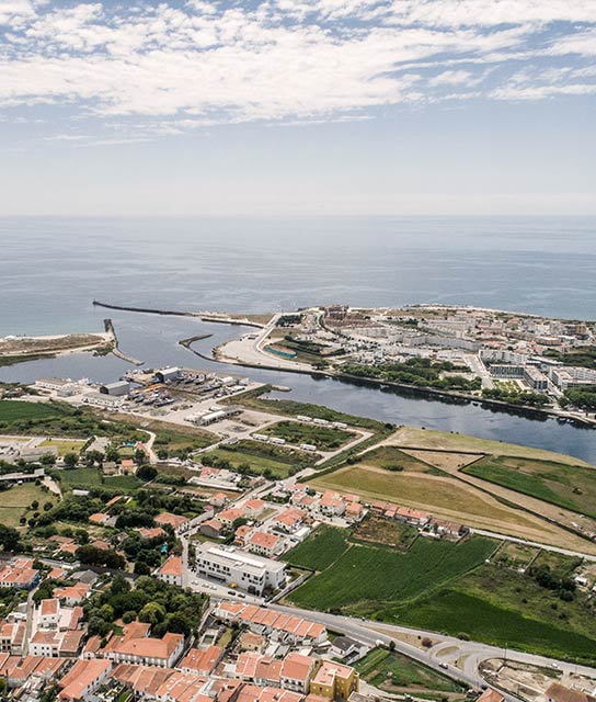 Vila do Conde View in Portugal