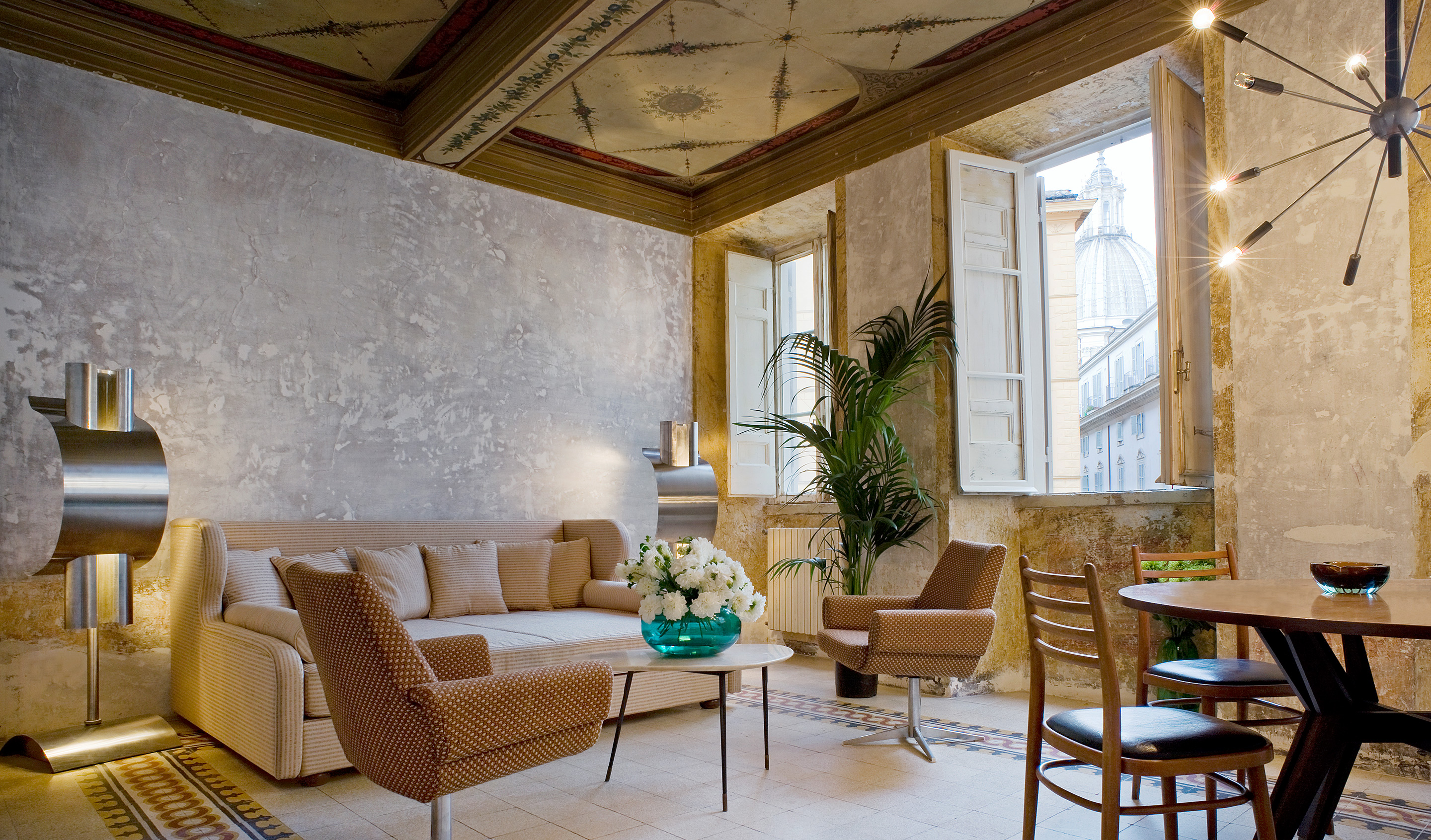 G rough rome italy design hotels for Design hotels rome
