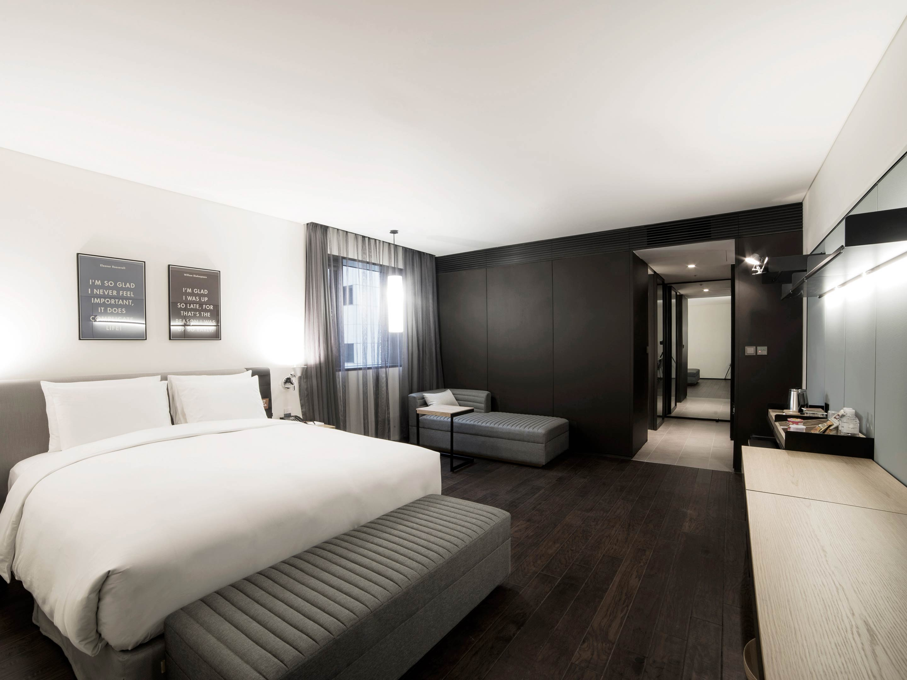 Rooms Amp Suites At Glad Hotel Yeouido In Seoul Design Hotels
