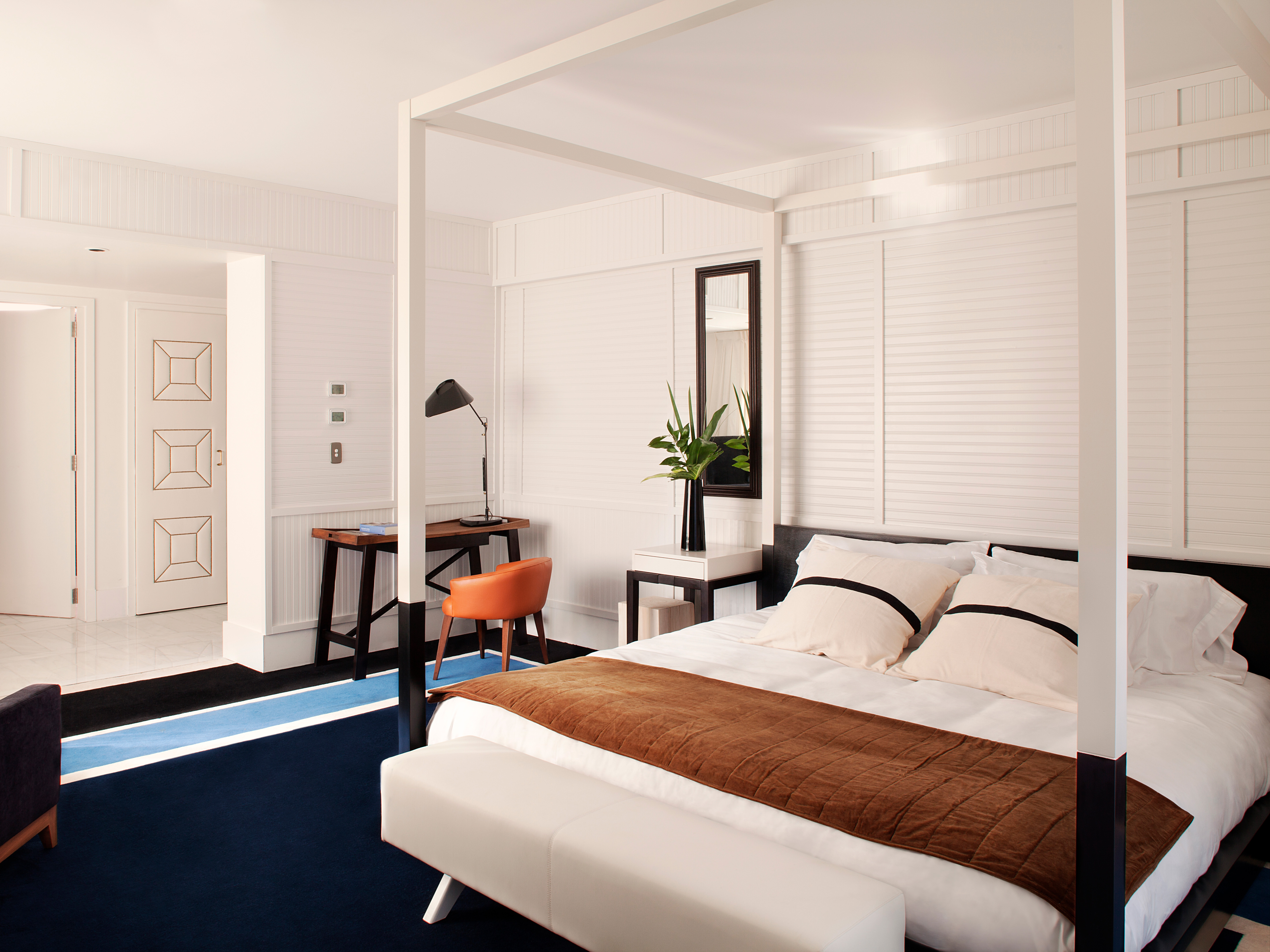 Rooms suites at hotel pulitzer in buenos aires design for Design hotel buenos aires